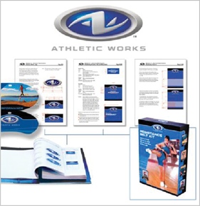 Athletic Works Style Guide and Brand Work
