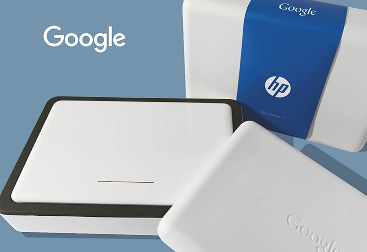 Molded Paper Packaging for Google Chromebook
