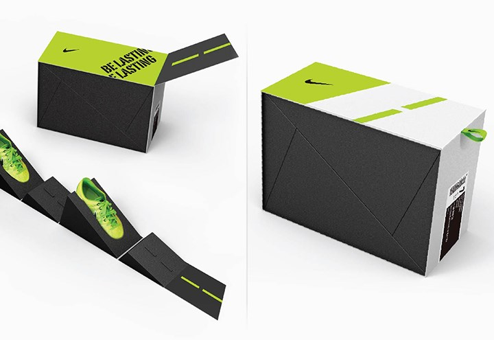 Structural Packaging Concepts for Nike