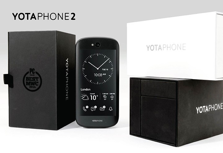 Yotaphone Cell Phone Packaging