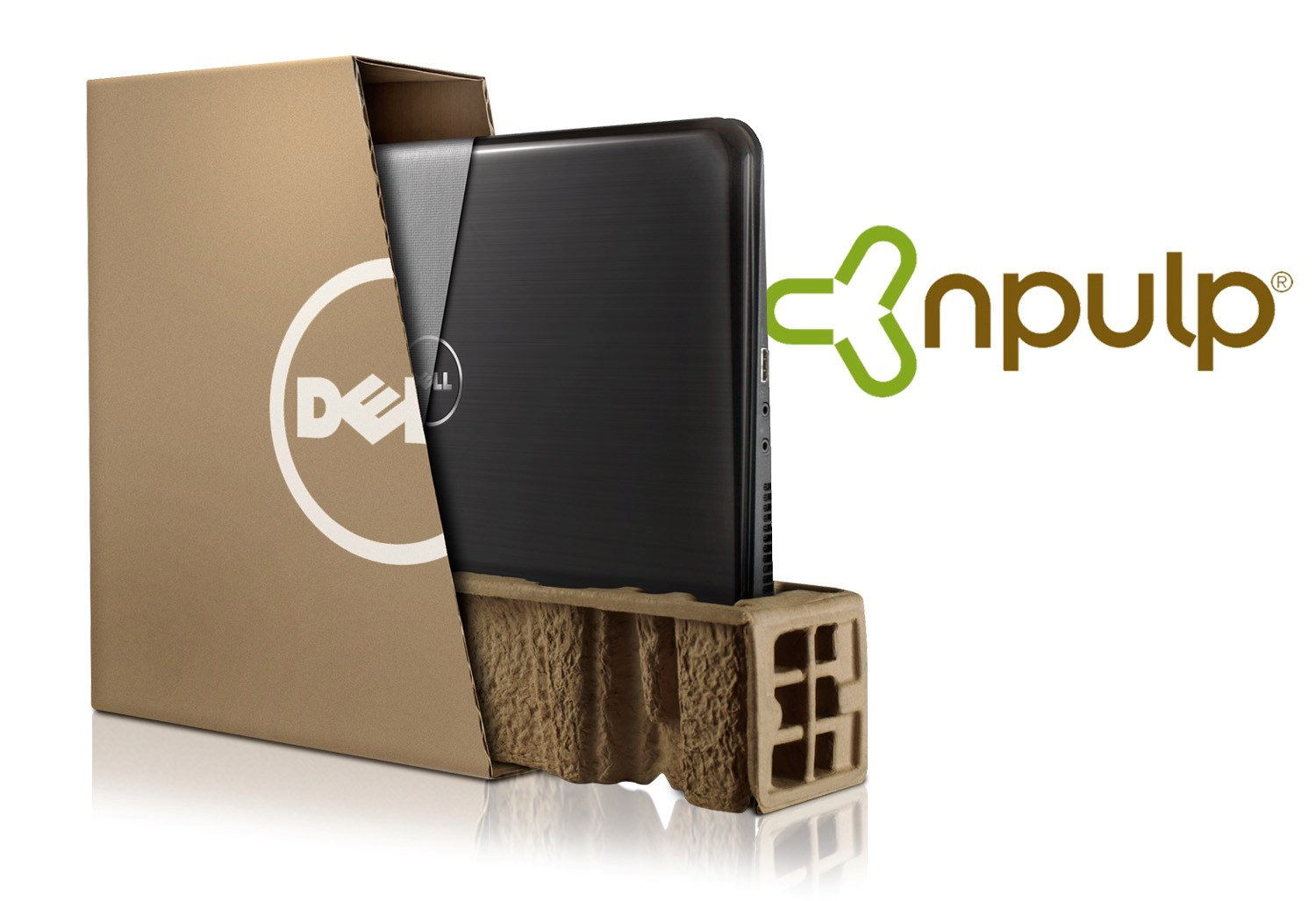 Sustainable Packaging Made from Wheat Straw for Dell